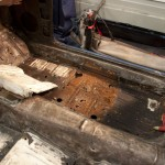 Upper seat pan removed