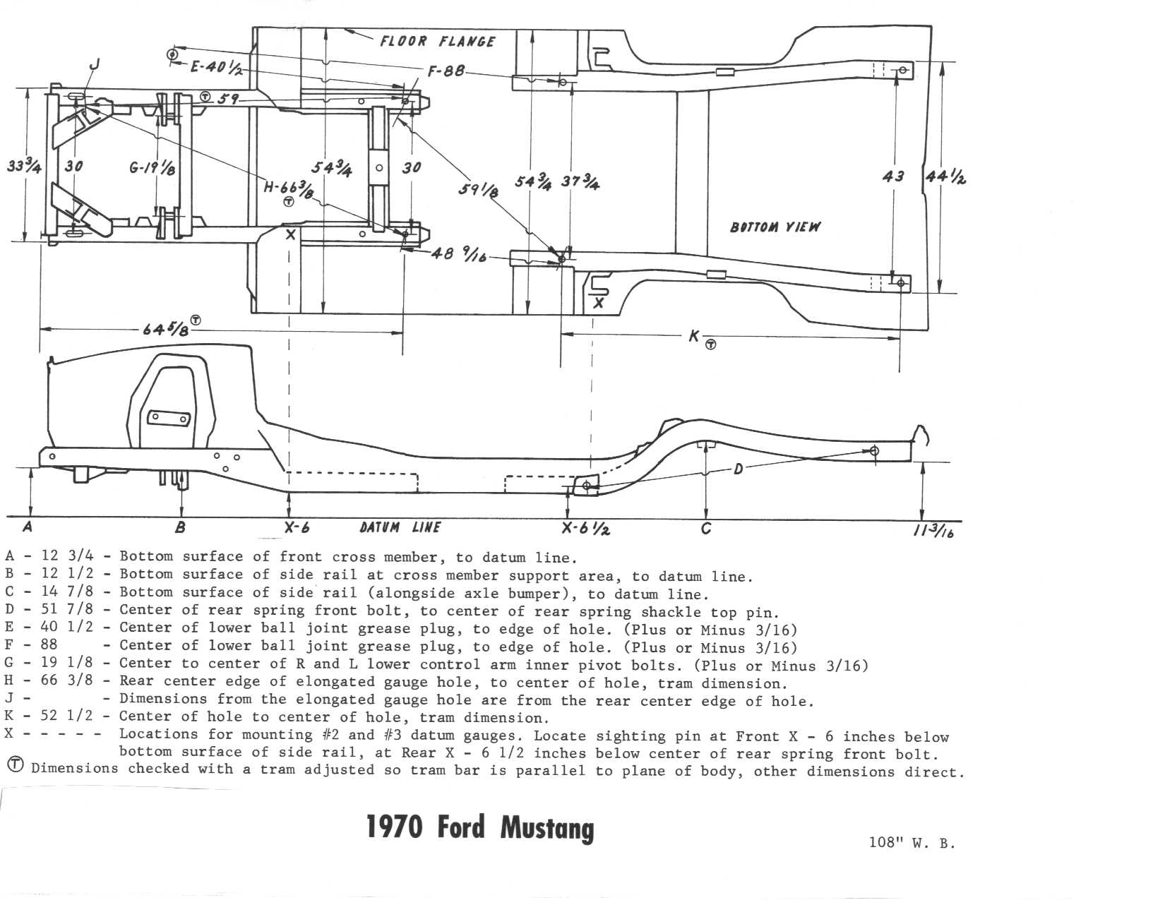 66 mustang frame diagram enthusiast wiring diagrams u2022 rh rasalibre co